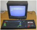Amstrad CPC 464 switched on