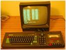 Amstrad CPC 464 hello world on green screen