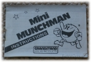 Mini Munchman instruction book