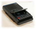 HX-10 Cassette Recorder open